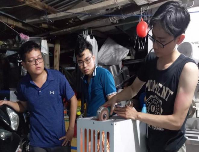9X chế tạo máy chế biến thực phẩm dư thừa