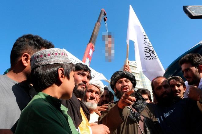 Taliban ra tuyên bố quan trọng về việc xử tử, treo thi thể ở nơi công cộng