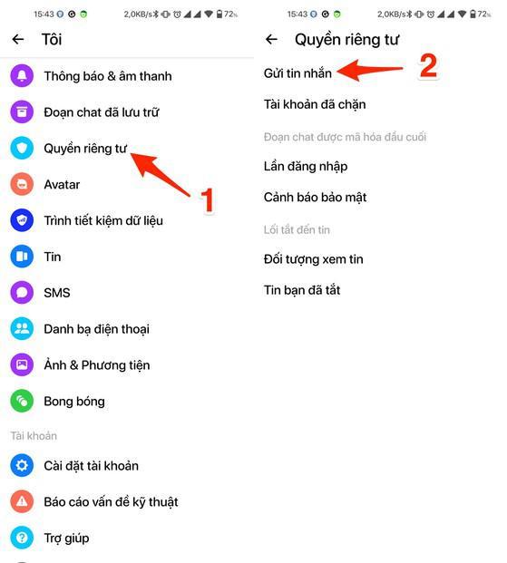 Cách chặn tin nhắn từ người lạ trên Messenger và Zalo