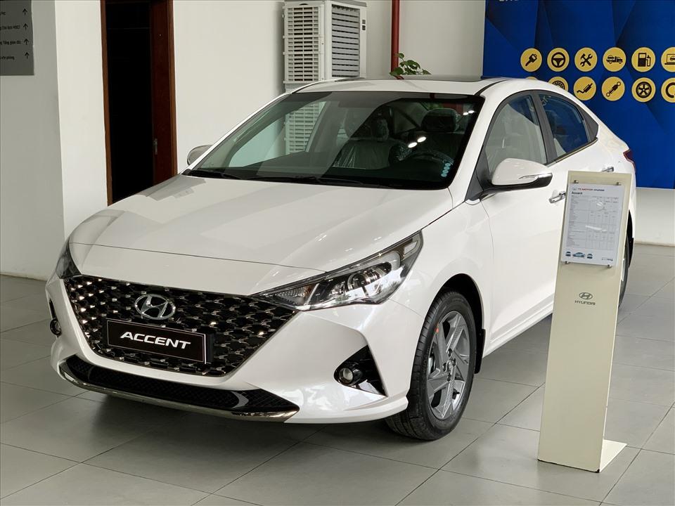 Bảng giá xe Hyundai tháng 10: Hyundai Accent giảm 34 triệu đồng