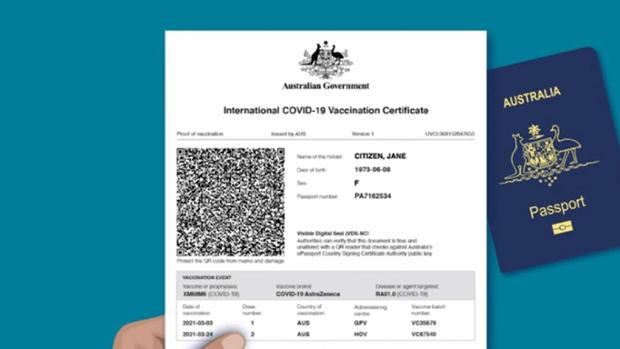 Một bang của Australia ban hành luật cấm giả mạo chứng nhận vaccine