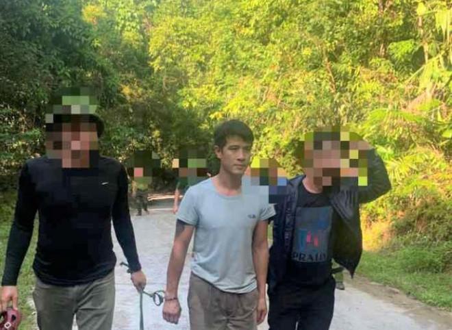 Bắt nghi phạm chém người rồi lẩn trốn vào rừng VQG Phong Nha - Kẻ Bàng - ảnh 1