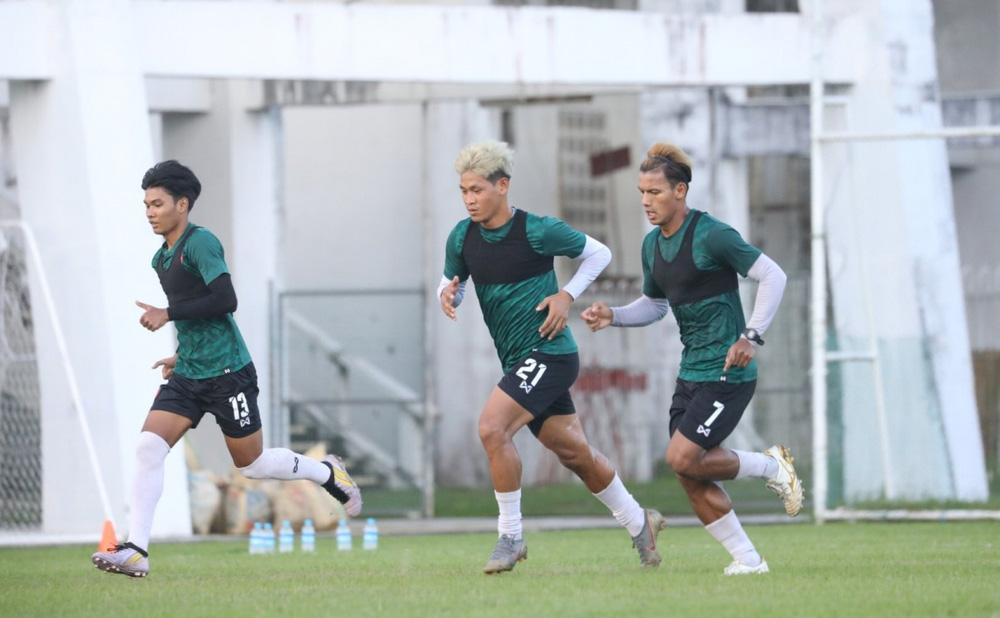 U23 Myanmar tập huấn UAE trước ngày đấu U23 Việt Nam