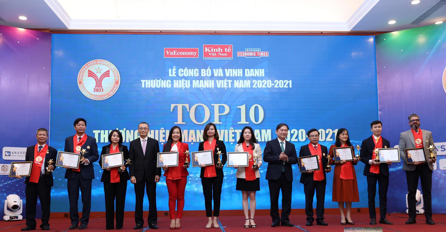 Masterise Homes đạt top 10 thương hiệu mạnh nhất Việt Nam