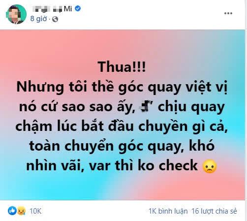 BLV Liên Quân có phát ngôn gây tranh cãi sau thất bại của tuyển Việt Nam - ảnh 1