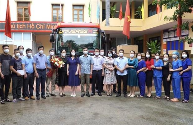 Quảng Bình cử cán bộ sang giúp tỉnh Khammouane của Lào chống dịch - ảnh 1