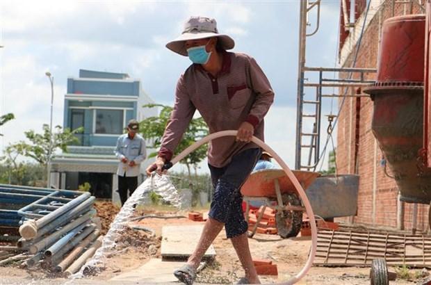 Người dân vùng Dự án sân bay Long Thành xây nhà, đến nơi ở mới