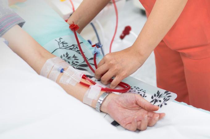 Chạy thận nhân tạo giúp duy trì sự sống cho bệnh nhân