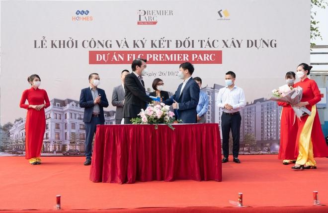 FLC Premier Parc khởi công và ký kết đối tác xây dựng giai đoạn 2