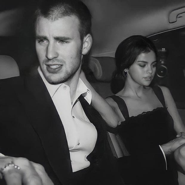 Cả MXH náo loạn vì Selena Gomez và Chris Evans lộ hình nét căng mùi mẫn trong xe không khác gì tình nhân?