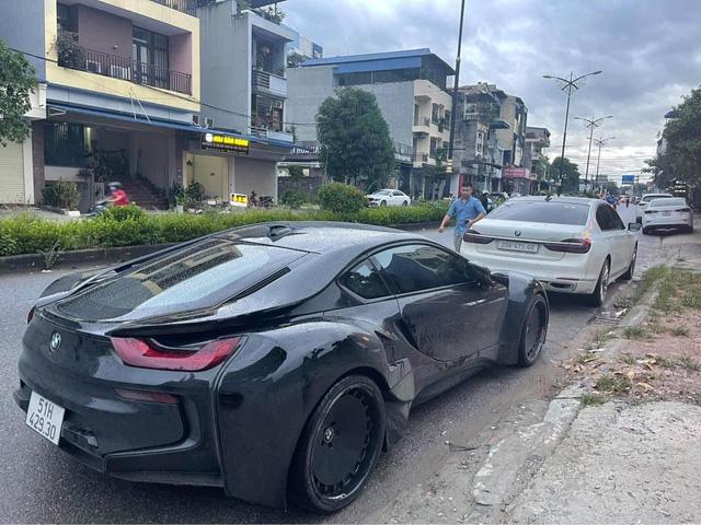 Dân chơi Thái Nguyên tậu BMW i8 độ thân rộng siêu độc lạ tại Việt Nam - ảnh 1