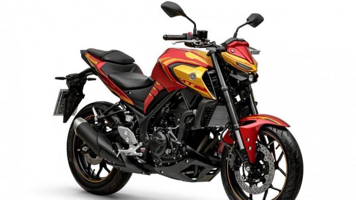 Yamaha MT-03 Iron Man 2022 ra mắt, giá 115,8 triệu đồng