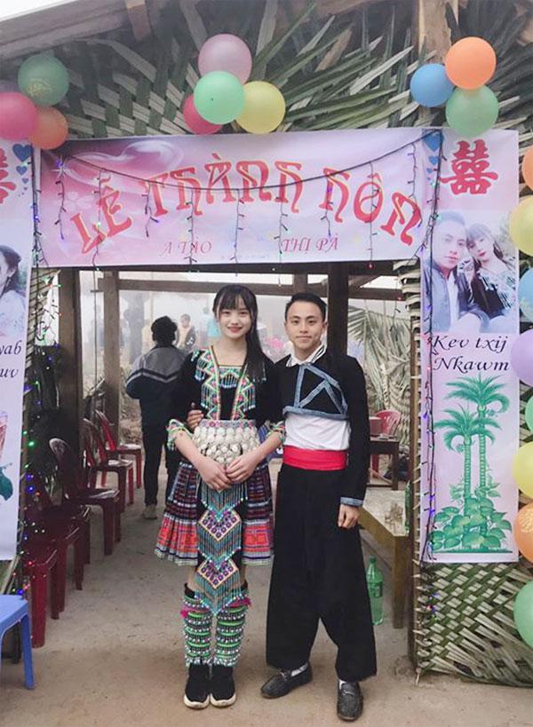 Cô dâu người dân tộc xinh như hoa trong đám cưới Tây Bắc