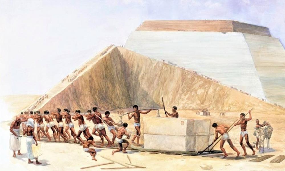 Kim tự tháp Ai Cập thực sự có phải do hàng trăm nghìn nô lệ xây dựng? - ảnh 1