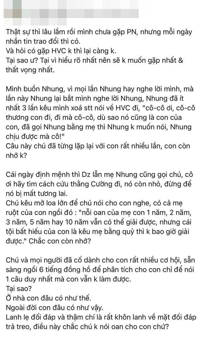 Hồ Văn Cường tiếp tục bị phía Phi Nhung tố