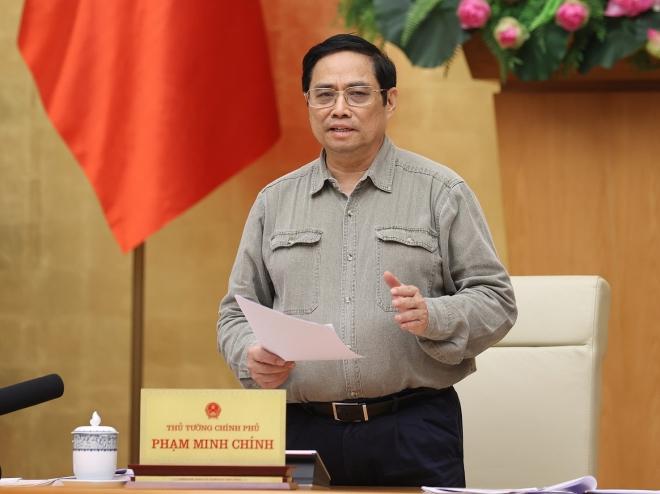 Thủ tướng Phạm Minh Chính: Đổi mới tư duy và biện pháp phòng chống dịch Covid-19 - ảnh 1