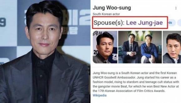 """Tài tử Jung Woo Sung bất ngờ lộ thông tin đã có """"vợ"""" là một nam đồng nghiệp khiến dân mạng sốt xịch xịch?"""