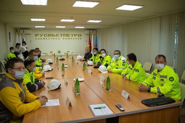 Đại sứ Việt Nam tại Nga thị sát hoạt động của liên doanh Rusvietpetro