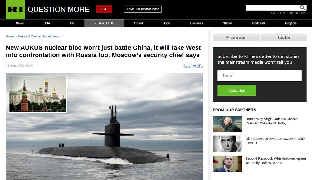 """Moscow """"run rẩy"""" vì AUKUS, chuyên gia Nga vén màn kịch bản sốc: Quân đội Nga-Trung hòa làm một!"""