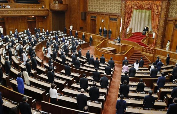 Tân Thủ tướng Nhật Bản lần đầu tham gia chất vấn tại Quốc hội - ảnh 1