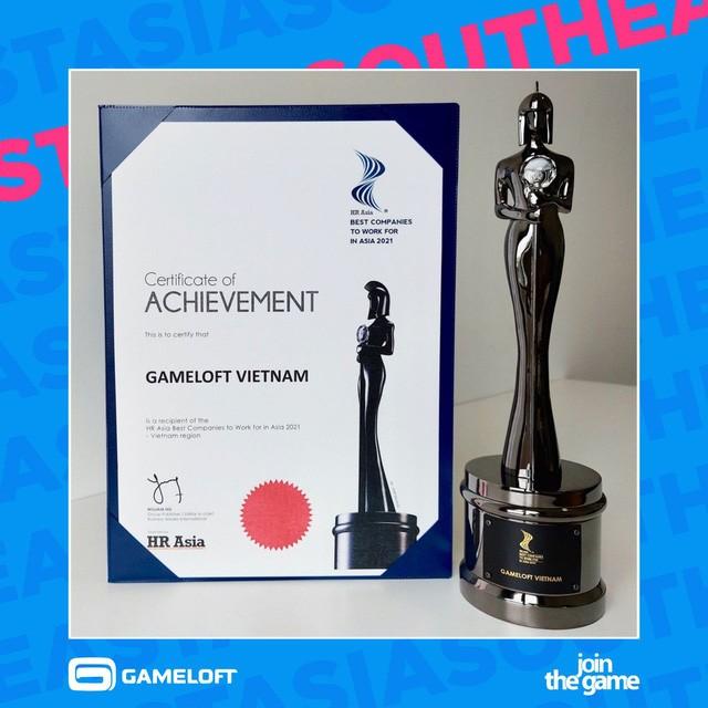 """Gameloft được vinh danh trong top """"Nơi làm việc tốt nhất Châu Á 2021"""" - ảnh 1"""