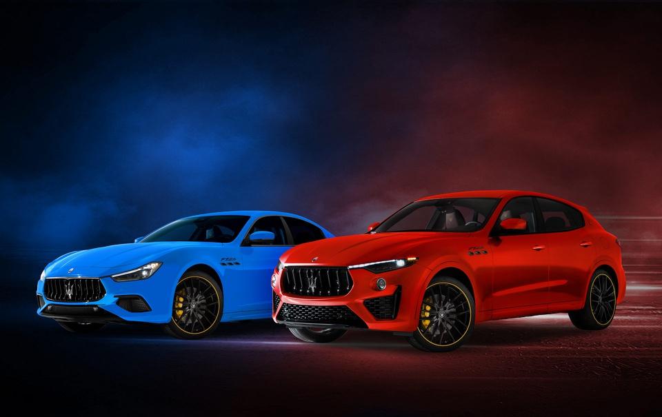 Maserati Ghibli và Levante F Tributo bản đặc biệt tri ân tay đua F1