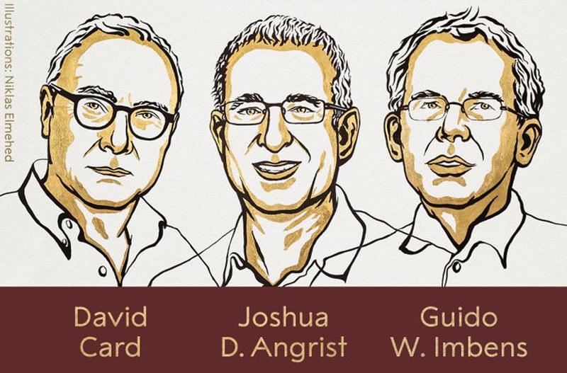 Ba giáo sư đại học Mỹ chia nhau giải Nobel Kinh tế 2021 - ảnh 1