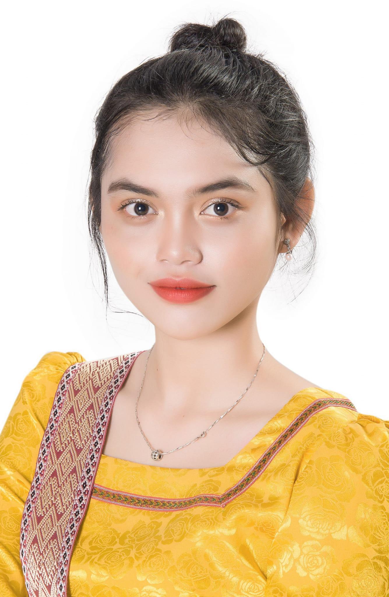 Nữ sinh người Chăm cao 1m76 gây bão khi tham dự Hoa hậu Hoàn Vũ Việt Nam 2021 - ảnh 1