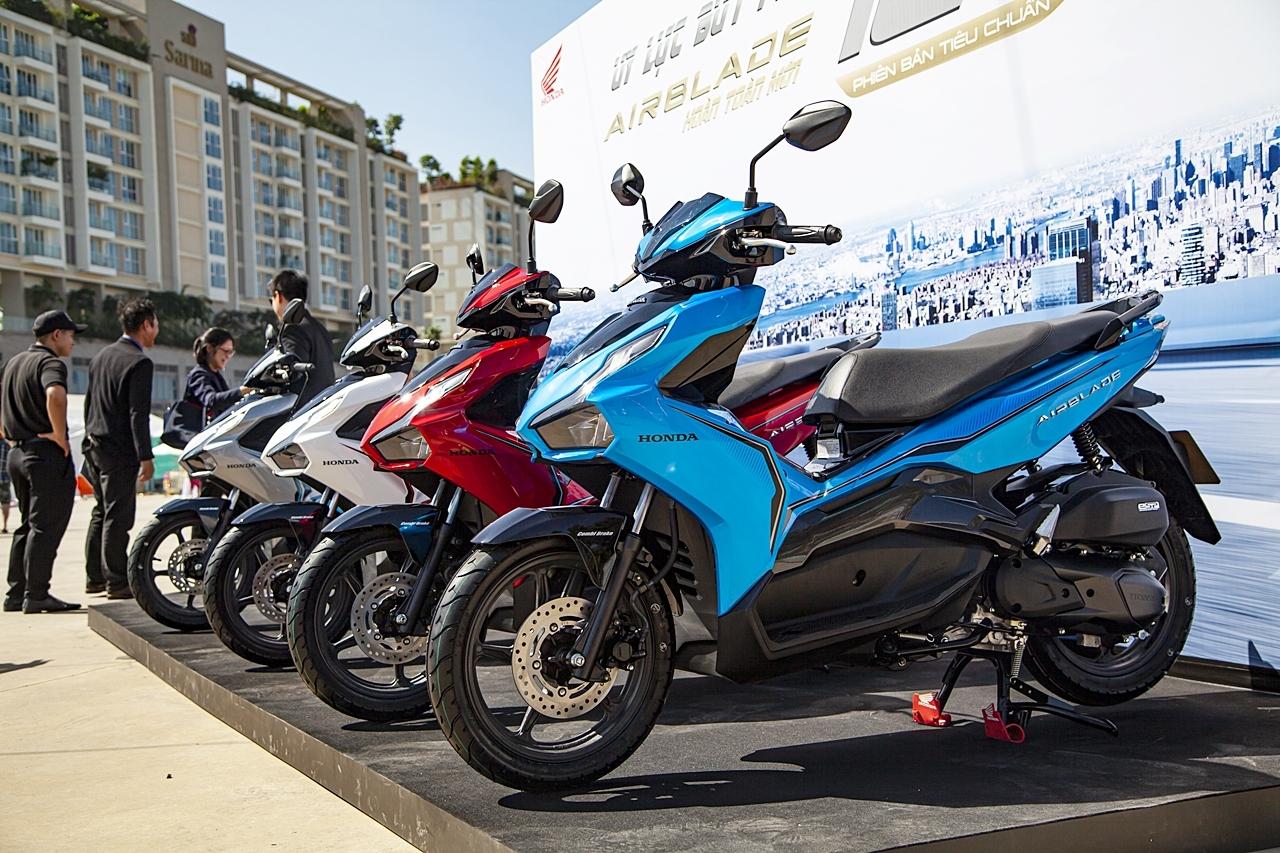 Quý 3/2021, doanh số xe máy sụt giảm gần 50% so với cùng kỳ năm ngoái
