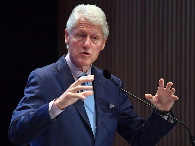 Hé lộ tình trạng sức khỏe của ông Bill Clinton