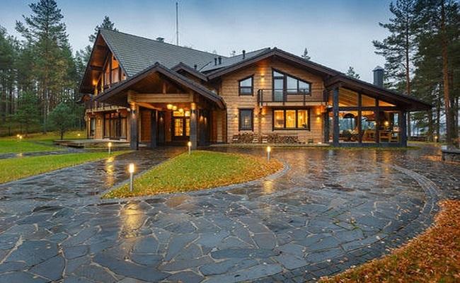 Chi đậm xây biệt thự nhà vườn bằng gỗ đẳng cấp đáng đồng tiền bát gạo