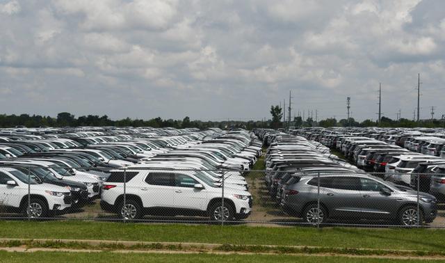 Thị trường ôtô của Mỹ ảm đạm do gián đoạn nguồn cung