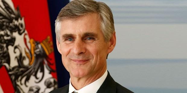 Đại sứ Áo tại Pháp Michael Linhart sẽ trở thành Ngoại trưởng - ảnh 1