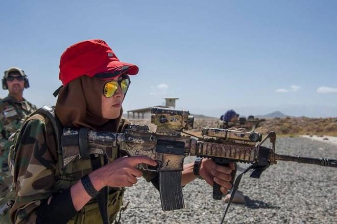 Điều ít biết về đội nữ đặc nhiệm của quân đội Afghanistan - ảnh 1