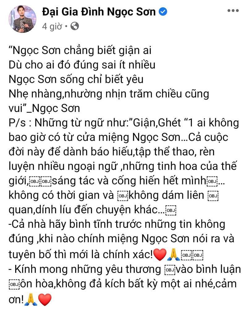 Ngọc Sơn không giận Hồ Văn Cường, hóa ra Long Nhật nói dối?