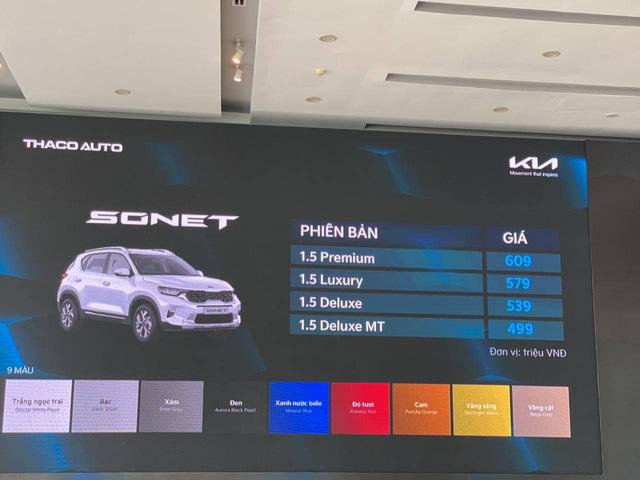 Kia Sonet đắt hay rẻ: Đây là khác biệt giữa 4 phiên bản chênh nhau 110 triệu đồng tại Việt Nam - ảnh 1