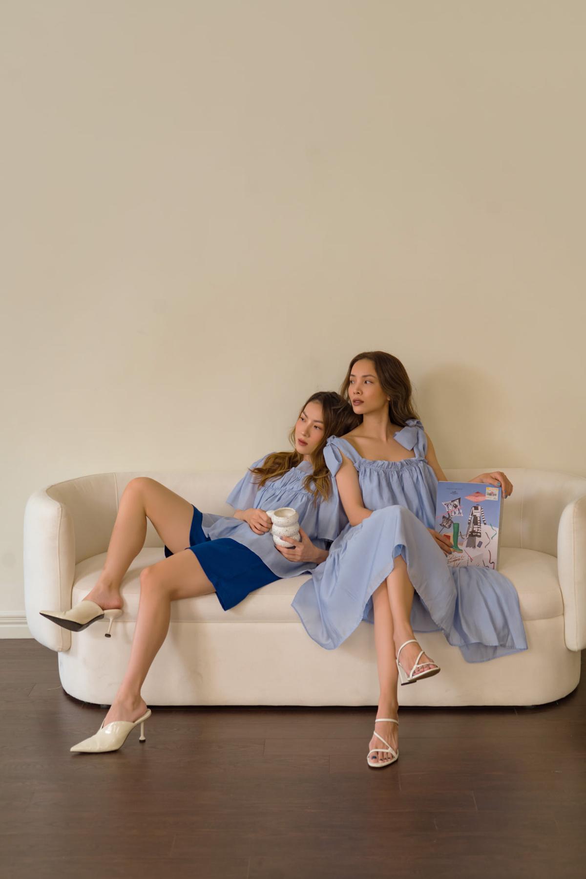 Yến Trang, Yến Nhi gợi ý chọn đồ thu