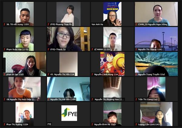 Hội thảo hướng nghiệp trực tuyến cho hơn 500 học sinh Hải Phòng, Nghệ An - ảnh 1